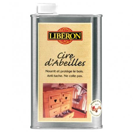 Cire abeilles liquide 0.5L Liberon chene doré