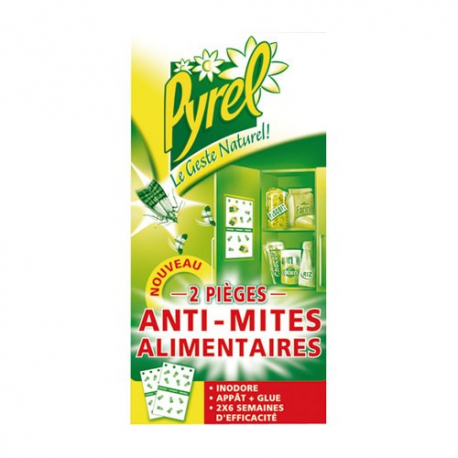pyrel antimites alimentaires x2 insecticides mites alimentaires et textiles droguerie paris. Black Bedroom Furniture Sets. Home Design Ideas