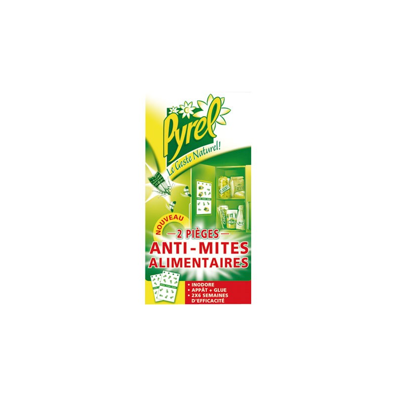 pyrel antimites alimentaires x2 insecticides mites. Black Bedroom Furniture Sets. Home Design Ideas