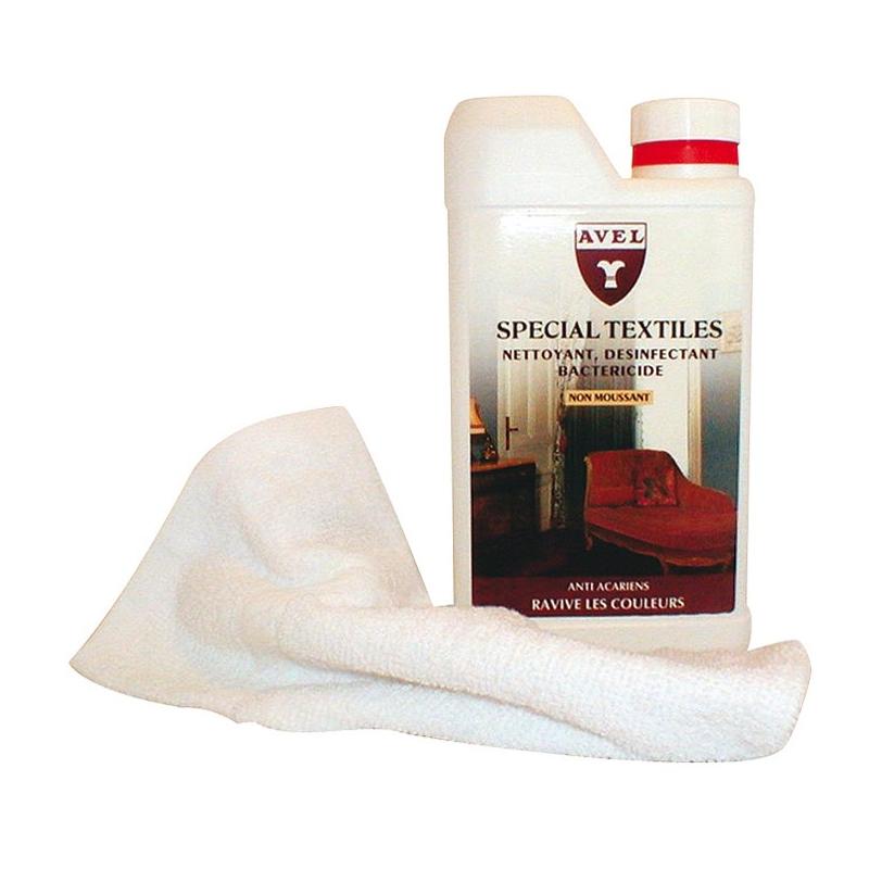 nettoyant d sinfectant sp cial textiles avel 0 5l entretien des tissus d tachant tissu droguerie. Black Bedroom Furniture Sets. Home Design Ideas