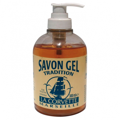 Savon gel nature LA CORVETTE 300ml