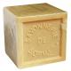 Savon Marseille 72% 600g blanc/beige