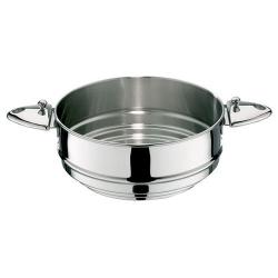 LAGOSTINA - Panier cuit vapeur en inox sans manche d 20/22/24