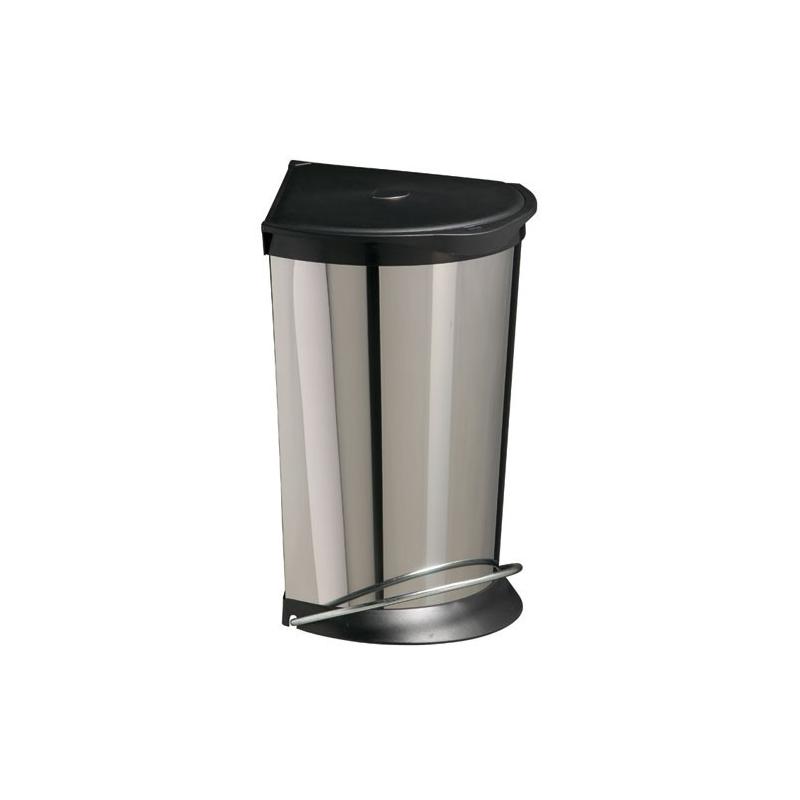 Poubelle En Inox : poubelle corneilia 24l en inox rossignol les poubelles les ~ Edinachiropracticcenter.com Idées de Décoration