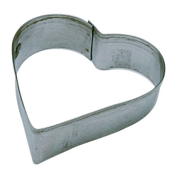 Découpoir cœur 4cm inox PATISSE
