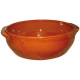 Plat creux 7,5L - 32 x 12 cm brun tradition