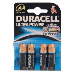 Pile alcaline AA/LR06 Duracell Ultra Power x 4