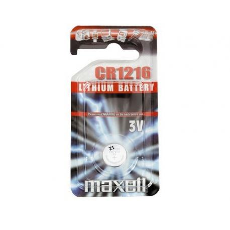 Pile bouton cr1216 3v maxell piles lithium cr1216 - Pile plate 3v ...