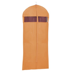Housse à vêtements 60 x 135cm orange- RAYEN