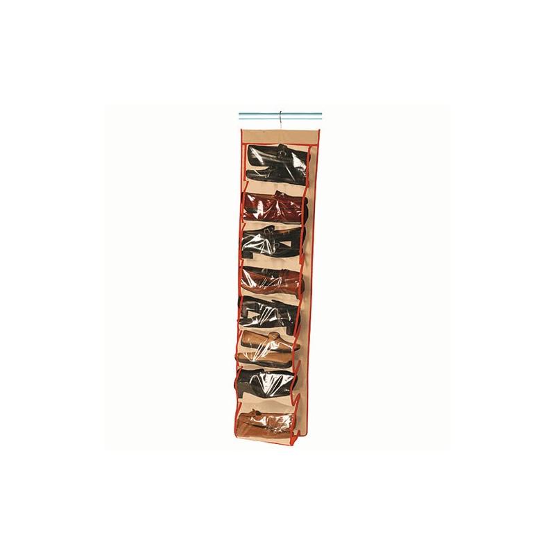 Housse chaussures 16 paires rayen pratique pour le - Housse rangement chaussures ...