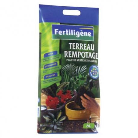 Terreau de rempotage 6l - Fertiligène
