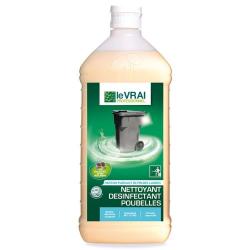 Le Vrai Professionnel nettoyant désinfectant poubelles 1L