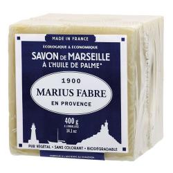 Savon Marseille huile de palme 400g MARIUS FABRE