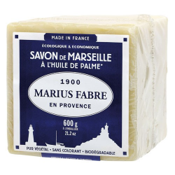 Savon Marseille huile palme 600g MARIUS FABRE