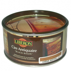 Cire Black Bison Liberon noyer 500CC