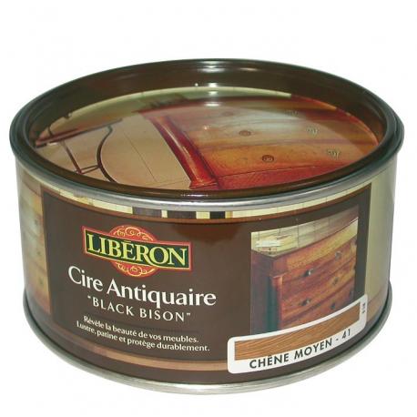 Cire Black Bison 500CC Liberon châtaignier