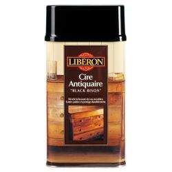 Cire black bison 0.5L Liberon acajou