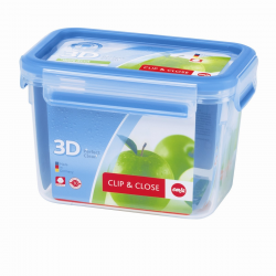 Boîte rectangulaire 1,10l Clip & Close 3D EMSA