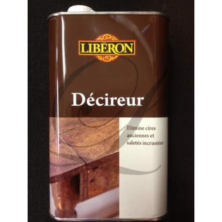 D cireur liberon 1l for Produit liberon bois