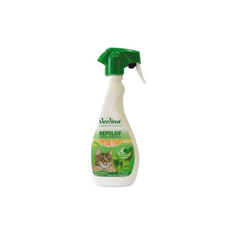 R pulsif chats vaporisateur 500ml verlina - Repulsif chat plante ...