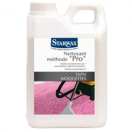 shampoing nettoyant assainissant acariens starwax entretien des tapis et moquettes droguerie paris. Black Bedroom Furniture Sets. Home Design Ideas