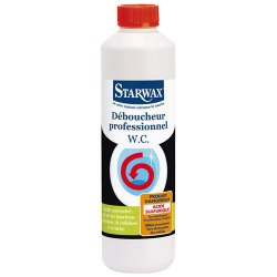 Déboucheur surpuissant liquide 500ml STARWAX
