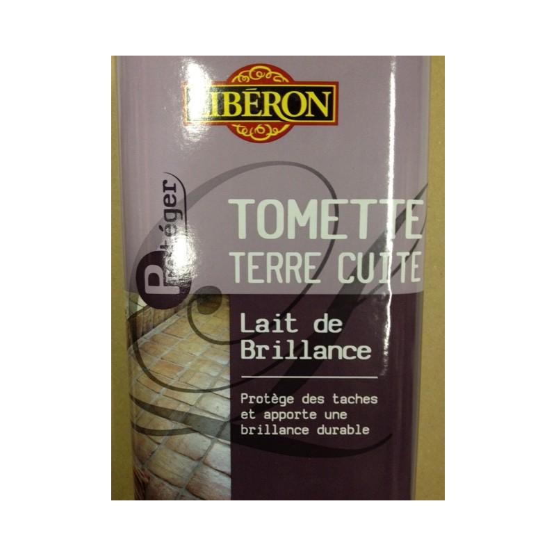 Lait de brillance tomettes 1l liberon entretien carrelage marbres terre cuite sols for Produits liberon