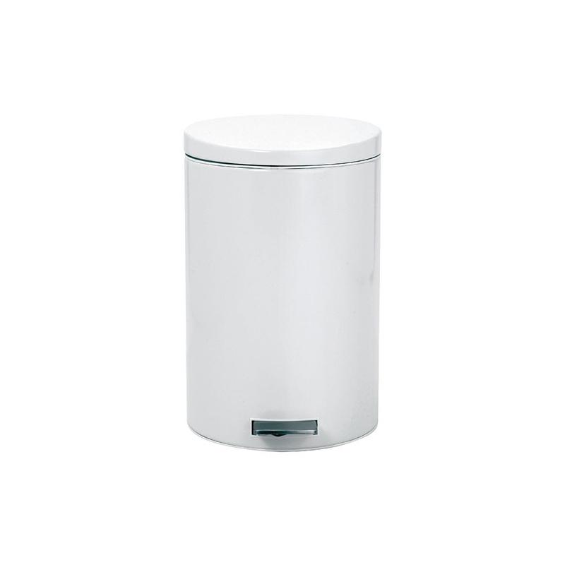 Poubelle p dale 20l motion control blanc les poubelles - Poubelle de cuisine a pedale ...