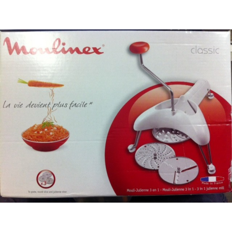 Moulin julienne moulinex les machines manuelles moulins - Appareil julienne legumes moulinex ...