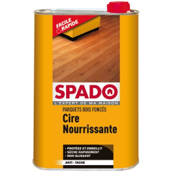 Cire parquet SPADO chêne foncé1l