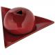 Bruleur papier Arménie céramique rouge