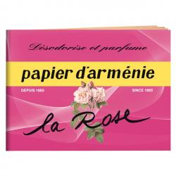 Carnet papier Arménie la rose