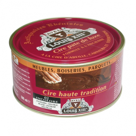 Cire pate Louis13 500ml incolore