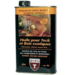 Huile pour teck bois/exotique 500ml