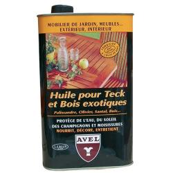 Huile pour teck bois/exotique 1l