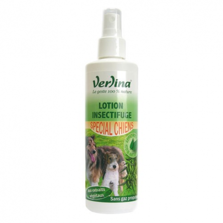 Lotion insectifuge chiens